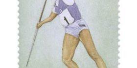 Yleisurheilu - Tiina Lillak  postimerkki 4
