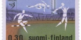 Yleisurheilun EM-kilpailut  postimerkki 0